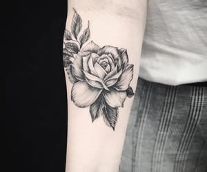 arm, ink, and tattoo image