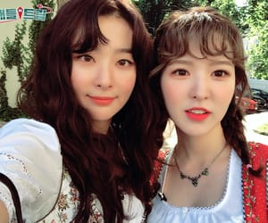 wendy, red velvet, and seulgi image