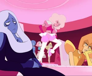 pink diamond, blue diamond, and yellow diamond image