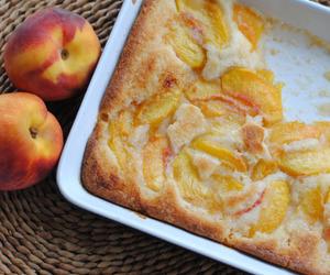 peach and dessert image