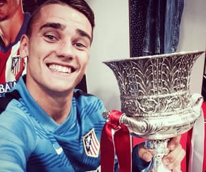 antoine griezmann, atletico madrid, and football image
