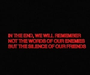 quotes, friends, and enemies image