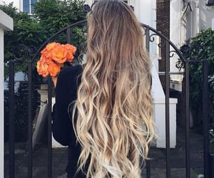 beuty, blonde, and girl image