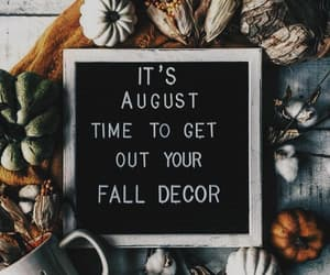 August, fall, and autumn image