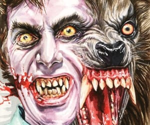 horror, werewolf, and horror films image