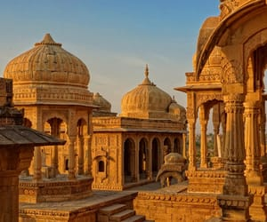 heritage, rajasthan, and indian temple image