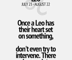 August, girl, and Leo image