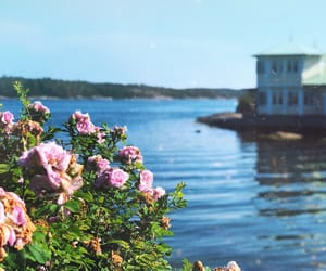coastal, maritime, and pink image