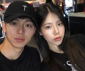 asian, couple, and korea image