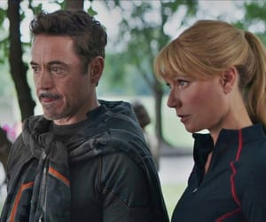 Avengers, gwyneth paltrow, and iron man image