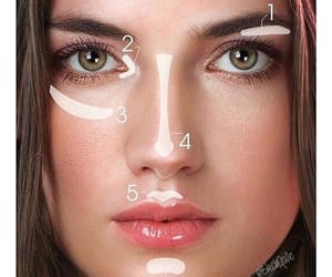 make up, makeup, and face image