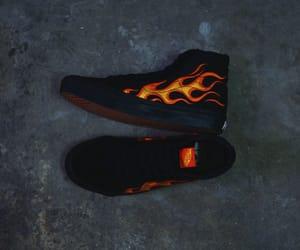 flame, wtaps, and sk8 hi image