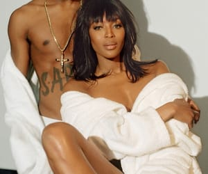 Naomi Campbell and asap rocky image