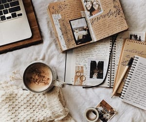 coffee and notebook image