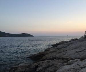 Croatia, sunset, and obala image