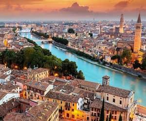 italy, city, and verona image