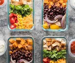 healthy, meal, and prep image