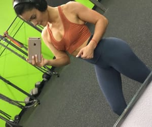 body, brunette, and exercise image