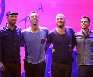 Chris Martin, guy berryman, and will champion image
