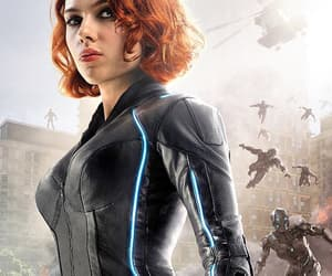 black widow, Avengers, and Marvel image