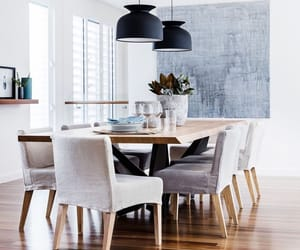 dining room, interior decorating, and interior design image