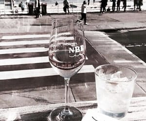 drinks, glass, and wine image