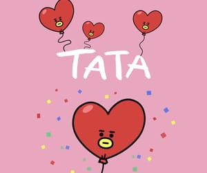 tata and bt21 image
