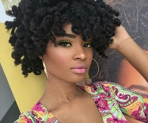 Afro, beauty, and earrings image