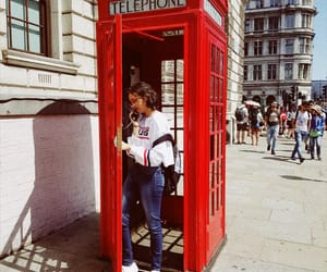 girl, london, and old image