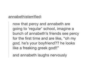 percy jackson, book, and percabeth image