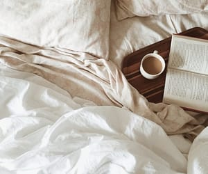 cozy, book, and coffee image