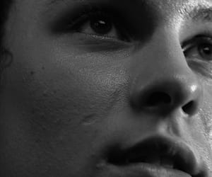 aesthetic, black and white, and close ups image