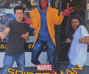 Marvel, mj, and spiderman image