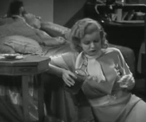 gif, jean harlow, and red-headed woman image