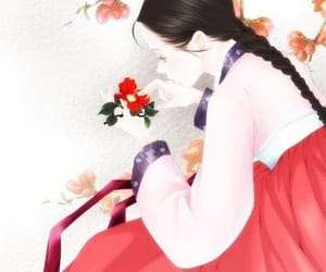 asia, beautiful, and illustration image