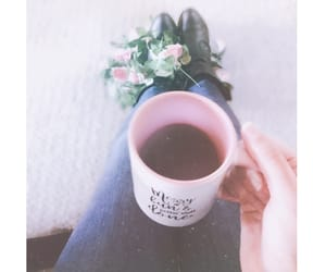 coffee, cute, and girly image