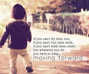 quote, life, and run image