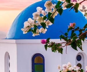 Greece, santorini, and love image