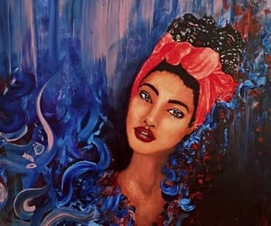 art, painting, and colorful image