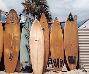aesthetic, beach, and surf image