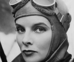 katharine hepburn, aviatrix, and christopher strong image