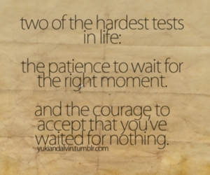 courage and patience image