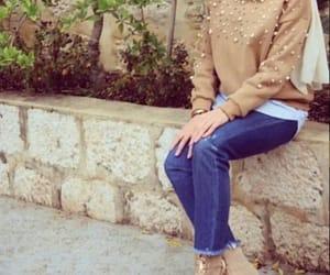 fashion, style, and ستايل محجبات image