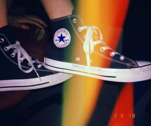 aesthetic, all star, and black image