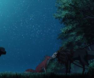 anime, night, and ruth image