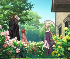 elias, the ancient magus' bride, and anime image