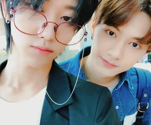 Seventeen, jun, and minghao image