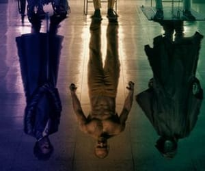 glass, james mcavoy, and movie image