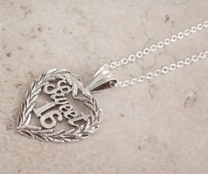 etsy, gift for teen, and heart necklace image