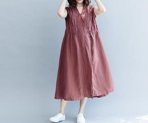 large size dress, etsy, and long dress image